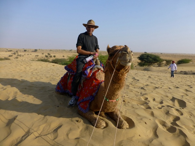 Ramesh später auf seiner Tour in Radjastan