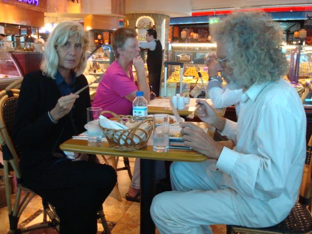 Jutta + Rainer nähern sich Salaten (nach langer Abstinenz)
