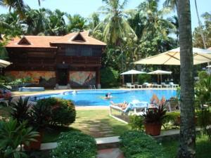 Luxus-Ayurveda-Resort im Kerala (Holz-) Style