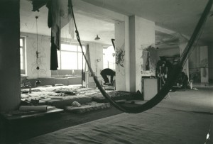 Wohn-Schlafloft der Kommune