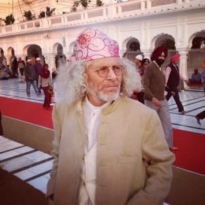 Rainer im Goldenen Tempel von Amritsar