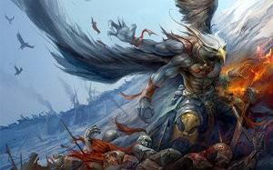 Adlerartiger Götterbote: Garuda